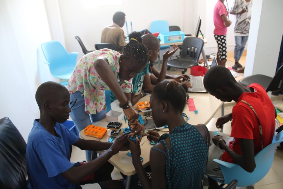 Young African Robotics Designers Sparking at Pan African Robotic